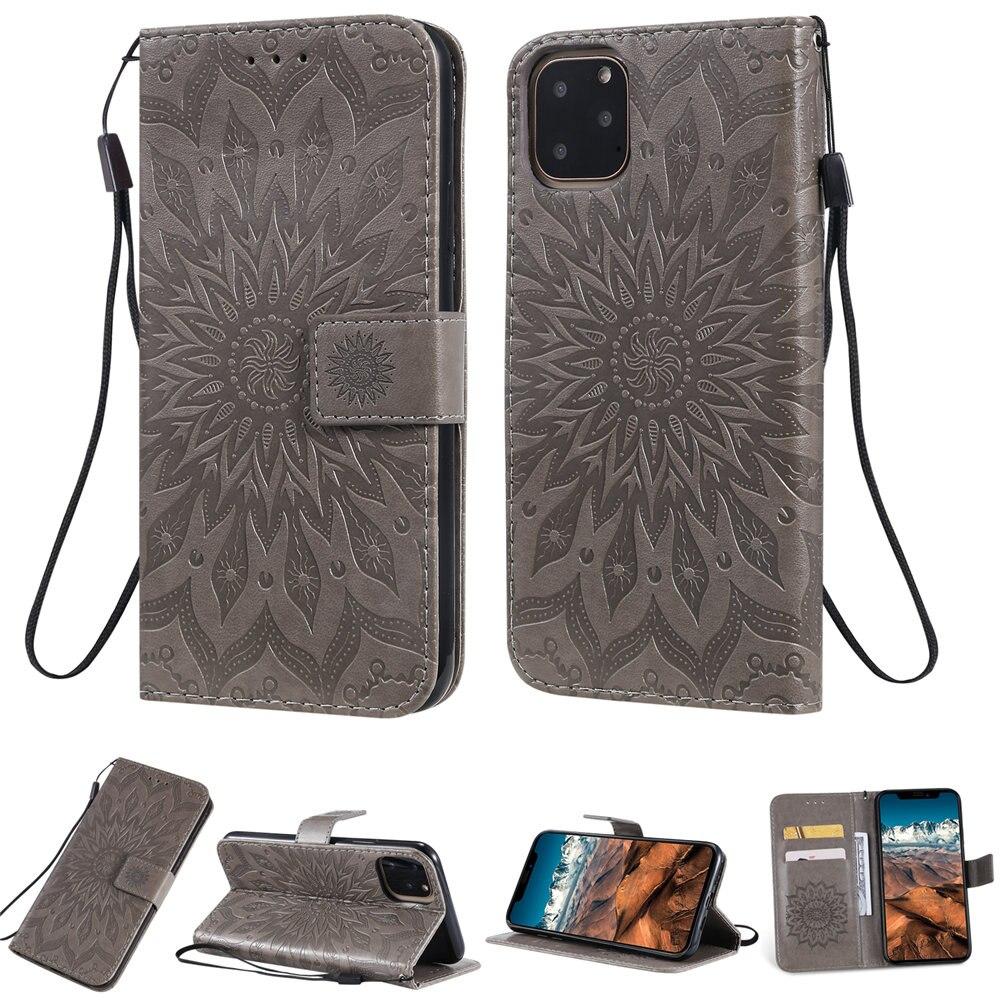 Luxury Flower Wallet Flip Case for iPhone 11/11 Pro/11 Pro Max 8