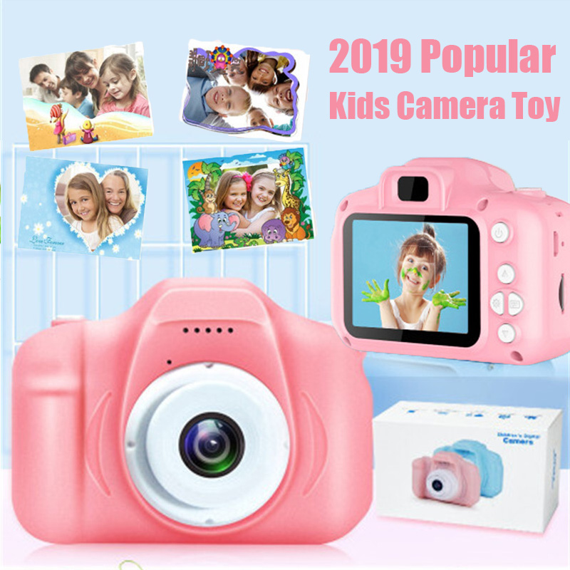 8G/16G/32G Kids Camera Toys Mini Digital Cameras Toys For Children Educational Toy Birthday Christmas Gift Photography Props