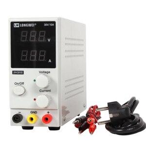Image 1 - New 30V 10A LED Display Adjustable Switching Regulator DC Power Supply LW K3010D Laptop Repair Rework 110v   220v