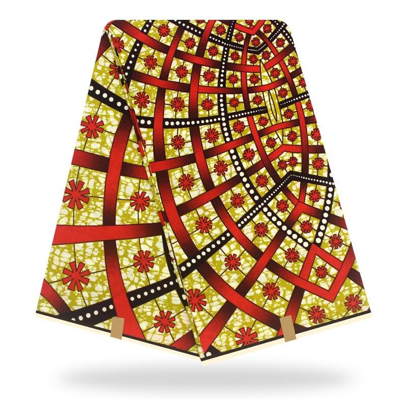 African Fabric Wax Print Ankara Real Wax  Wax African Print Fabric Cotton Pagne Africain Hot Wax