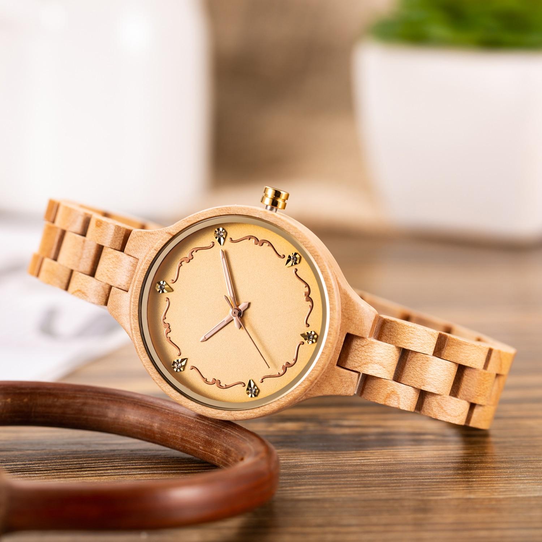 Relógios Pulseira De Madeira Decoração de Madeira