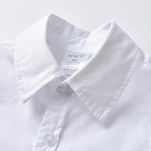 Image 3 - פעוט בגדי 2020 קיץ תלבושות עבור 1 7 שנות ילד בגדים לבן קצר שרוולים חולצה + חאקי מכנסיים חליפה סט בגדי ילדים