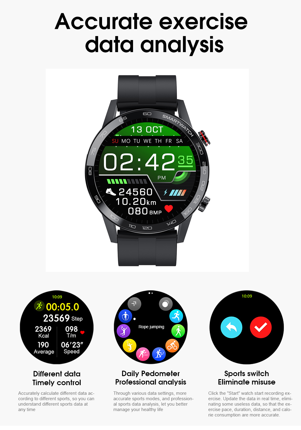 H8583222f8dca4418b9ed708ab0936f80N Reloj Inteligente Hombre Smartwatch Ecg Ppg IP68 Smarthwatch Men Full Touch Smart Watch 2020 For Huawei Xiaomi Android Apple IOS