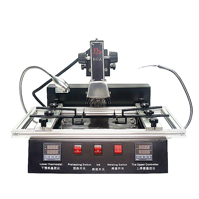 LY M770 Infrared BGA Rework Machine Soldering Station 2 Zones Motherboard Repair BGA Station