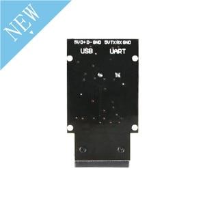 Image 4 - Placa de lectura de código de barras GM65 1D 2D, módulo Lector de escáner de código QR, Kit electrónico USB URAT DIY con conector de Cable CMOS para Arduino
