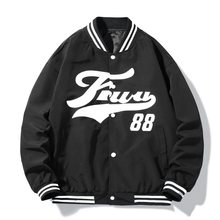 2021 New Spring&Autumn Embroidery Baseball Jacket Women's Coat Men's Couple Bomber Unisex Boyfriend Style Varsity Hiphop Street