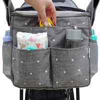 MOTOHOOD Baby Diaper Bags For Mom Backpack Fashion Star Maternity Bag Stroller Bag Multifunctional Nappy Bag For Mummy