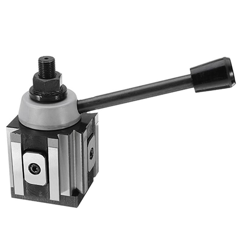 DMC-250-100 Piston Type Locking Tool Post Steel Quick Change Tool Post Lathe Tools