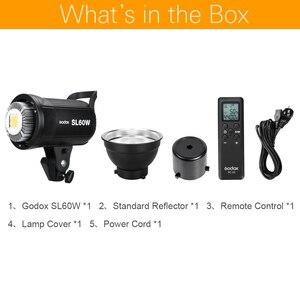 Image 2 - Godox LED Video Light SL 60W SL60W 5600K White Version Video Light Continuous Light Bowens Mount for Studio Video Recording