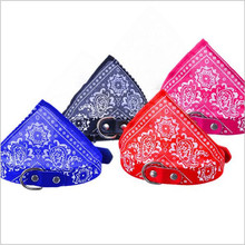 Cat Scarf Small Dogs Collar Pet-Accessories Puppy Adjustable