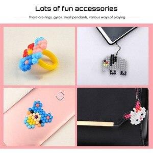 Image 5 - 11400 pièces eau perles collantes jouet bricolage magique perle jouet main faisant 3D perle éducatif Puzzle jouets pour enfants enfants sort reconstituer