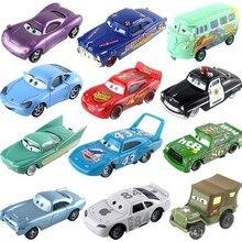 Disney Pixar Cars 2 3 Lightning McQueen Racing Jackson Storm Ramirez 1:55 Metal Alloy Model Car Boy Kid Toys Christmas Gift