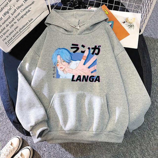 LANGA SK8 THE INFINITY THEMED HOODIE