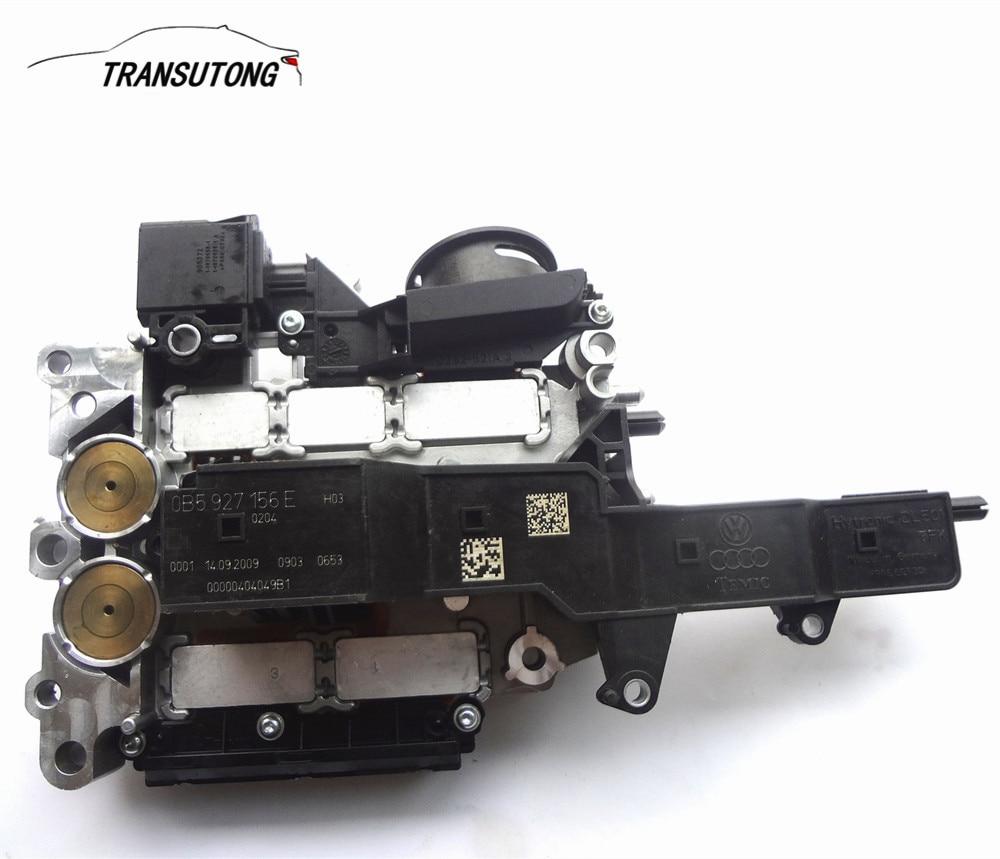 DQ500 DL501 0B5 TCU Tested 156E 156F 156D Auto 7 Speed Transmission Contorl Unit TCM for AUDI Refurbished(China)
