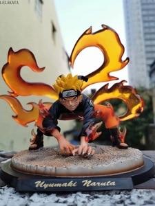 Image 2 - Naruto Shippuden Uzumaki Naruto Kakashi Obito Itachi Kyuubi Kurama Statue Anime PVC Action Figure Collectible Model Toys Doll