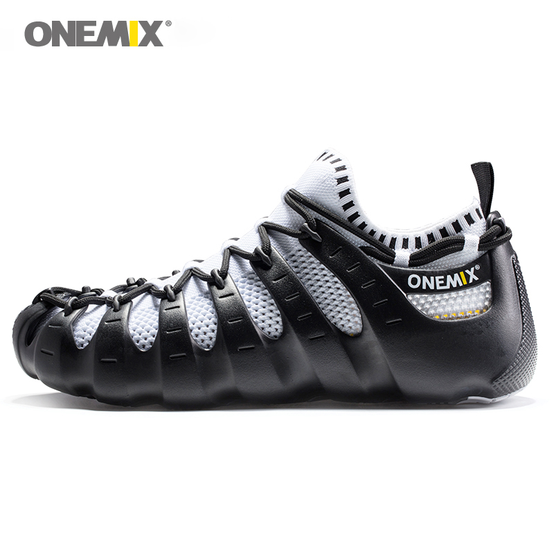 ONEMIX Men Multiple Function Walking Shoes Women Lightweight Running Shoes None Glue Classic Sneakers Fashion Roman Indoor Shoes