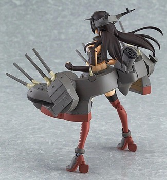 Collection Kantai Figma 232 Figure Anime Nagato Fleet Akagi Action Figurine Collectible Juguetes PVC Kantai Model Girl Toys Doll 5