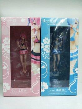15cm japonia animacja Re Zero zaczynając życie w innym świecie rysunek stroje kąpielowe wersja Rem Ram PVC model postaci figurki tanie i dobre opinie Apaffa Wyroby gotowe Unisex about 15cm keep away from fire Dorośli 14 lat 8 lat 6 lat Zapas rzeczy Film i telewizja