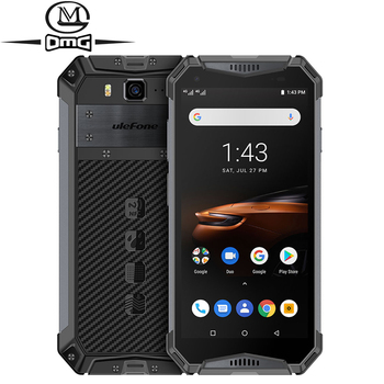 Перейти на Алиэкспресс и купить Ударопрочный мобильный телефон Ulefone armor 3W NFC, 10300 мАч, IP68, Android 9,0, Helio P70, 6 ГБ + 64 ГБ, распознавание лица, 4G LTE смартфон
