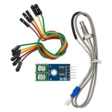 Módulo max6675 + modulo sensor para arduino, tipo termopar sendor de temperatura modulo para arduino