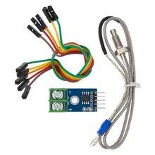 MAX6675 מודול + K סוג צמד תרמי תרמי Senso טמפרטורת מעלות מודול עבור arduino