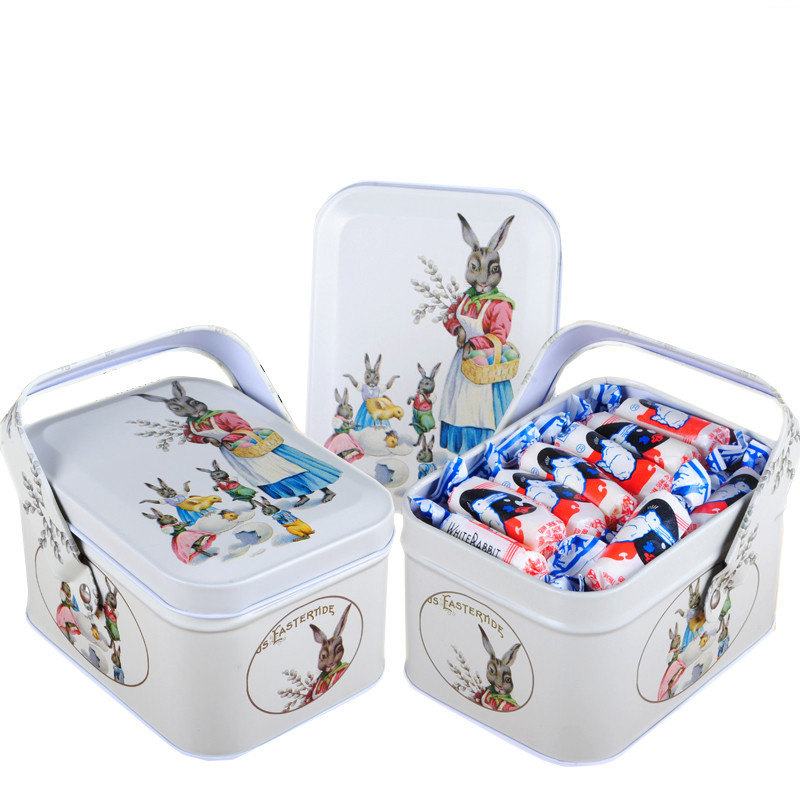 New arrival vintage small suitcase storage tin candy box change box earphones box small suitcase 1