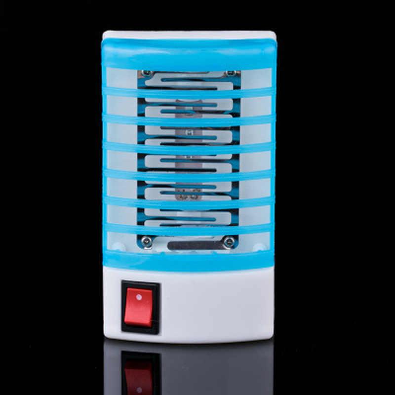 220V Rumah Praktis LED Soket Listrik Nyamuk Serangga Terbang Serangga Pembunuh Perangkap Malam Lampu Zapper Penghalau Tikus
