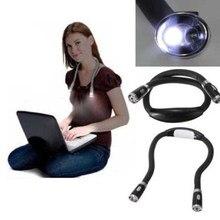 Lanterna de led flexível sem uso do pescoço, lâmpada para leitura no livro, luz noturna, para acampamento ud88