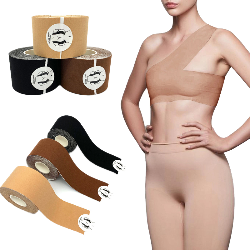 2.5M 5M Body Invisible Bra Women Nipple Cover DIY Breast Lift Tape Push Up Sticky Bra Lift Up Boob Tape Roll