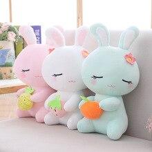 цены 22/30CM soft plant Easter bunny rabbit plush toy stuffed animal rabbit rabbit plush children soft toy children's toys