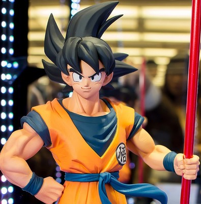 2020 New 18cm Dragonball Z Black Sun Wukong The 20th Anniversary Of The Theatrical Version Action Model