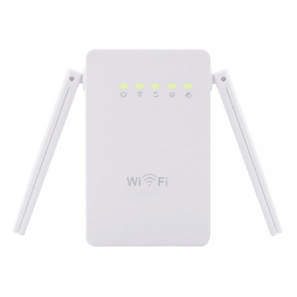 Wireless 300Mbps 802.11 AP Wifi Range Repeater Router Booster WAN LAN Network With Dual Aerial Signal Range Expander