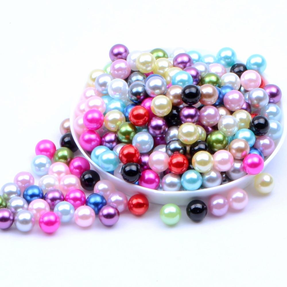 Stone Beads Mosaic Design Round 12 mm Multi Color DIY Jewelry Making Lot 30 pcs