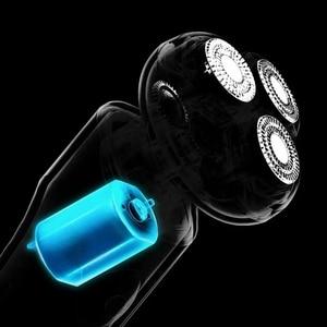 Image 4 - MSN Smart Elektrische Rasierer Große LCD Bildschirm Cordless Typ C Wiederaufladbare Wasserdichte Trocken Nass 9100rpm Geräuscharm Rasur rasiermesser