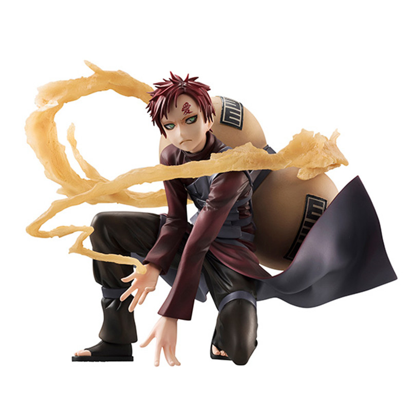 Anime Naruto Shippuden Gaara Sabaku no Gaara PVC Statue Figure New In Box