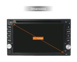 Image 3 - מולטימדיה לרכב 2 דין רכב נגן DVD כפול 2 דין אוניברסלי רכב רדיו GPS ניווט לרכב דאש סטריאו וידאו משלוח מפת מצלמה