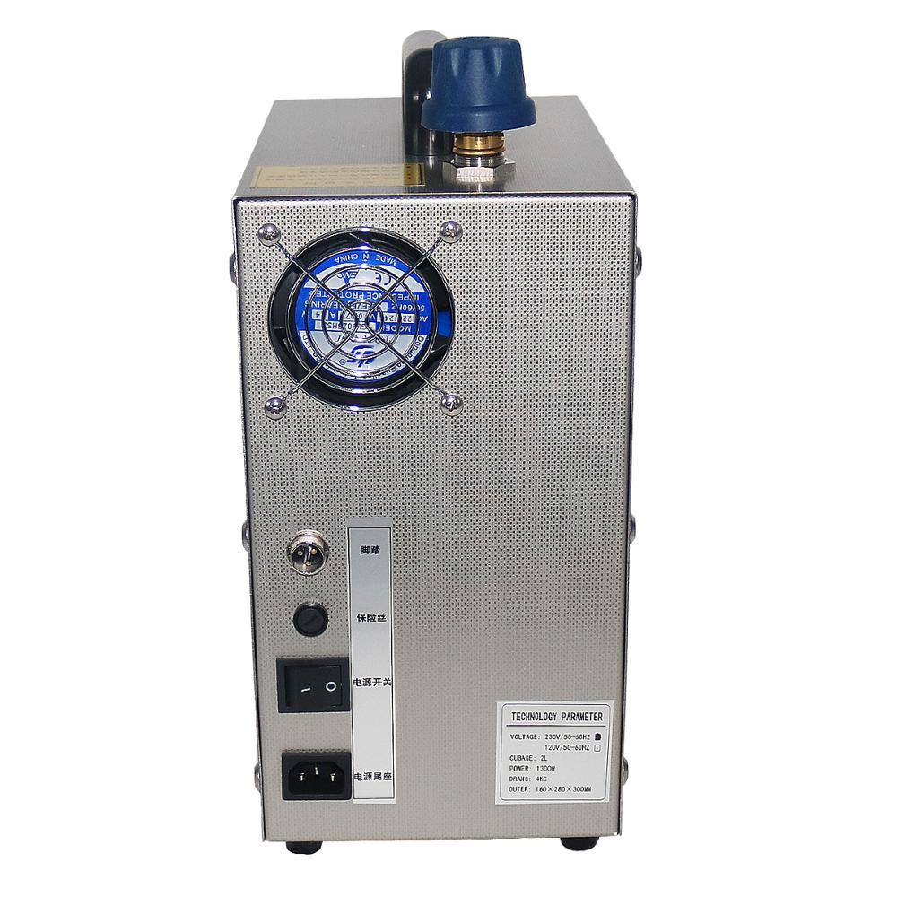 2L acier inoxydable bijoux nettoyeur vapeur gemme rondelle or et argent bijoux machine de nettoyage à la vapeur orfèvre équipement 1300W - 5
