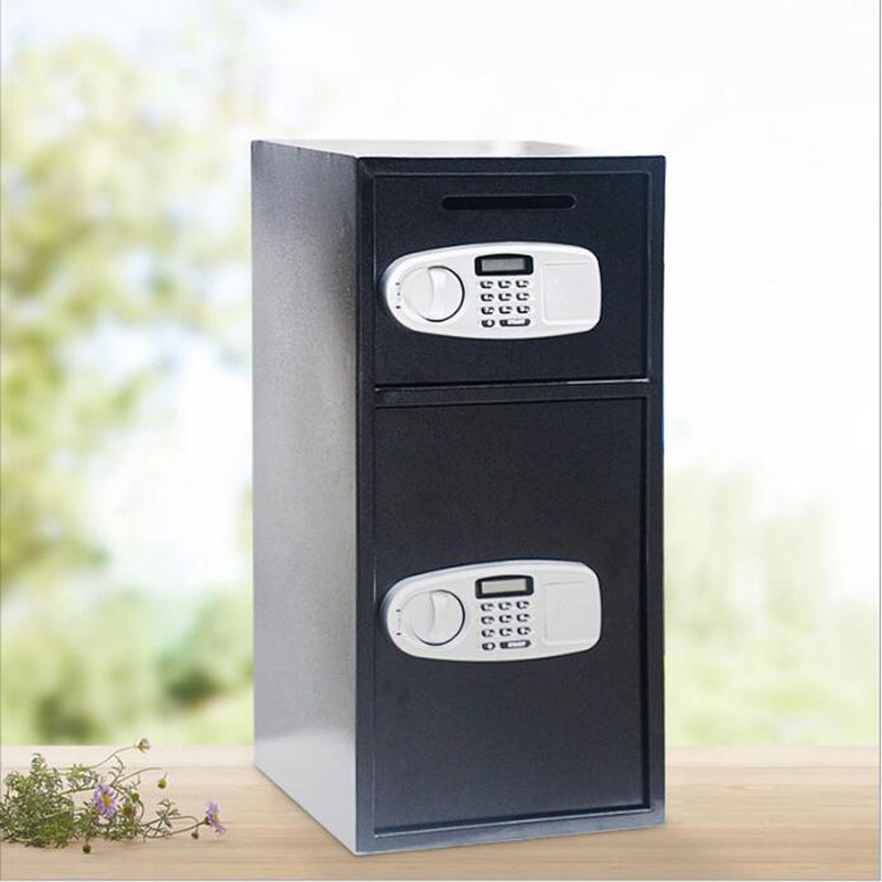 Safety Box Anti-theft  Storage Bank Security Money Jewelry Storage Collection Home Office Security Storage Box LBXX004