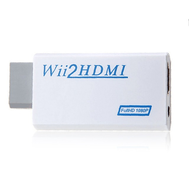 For Nintendo Wii Hassle Free Plug and Play For Wii to HDMI 1080p Converter Adapter Wii2hdmi 3.5mm Audio Box For Wii-link