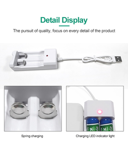Image 3 - PHOMAX USB 2 gniazda 1.2V przenośny szybki z linią akumulator aa ładowarka do baterii aaa 2pc Ni MH/ni cd bateria deft ładowarka led