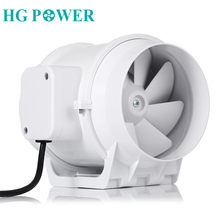 Ventilateur hydroponique en ligne pour salle de bain, 3