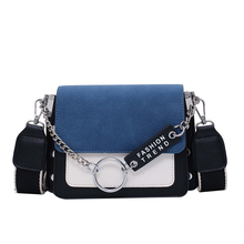 Fansiman Brand Women's Messenger Bags Flap Pu Leather Chains Crossbody