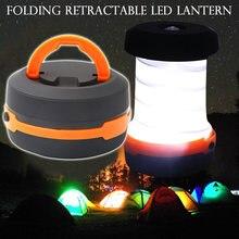 3 режима выдвижной уличный светодиодный фонарь для палатки кемпинга