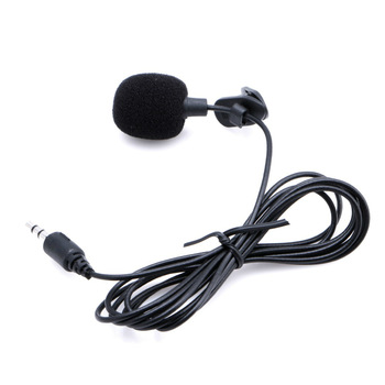 Universele draagbare 3,5 mm mini microfoon handsfree clip-on microfoon mini audio voor pc laptop luidspreker