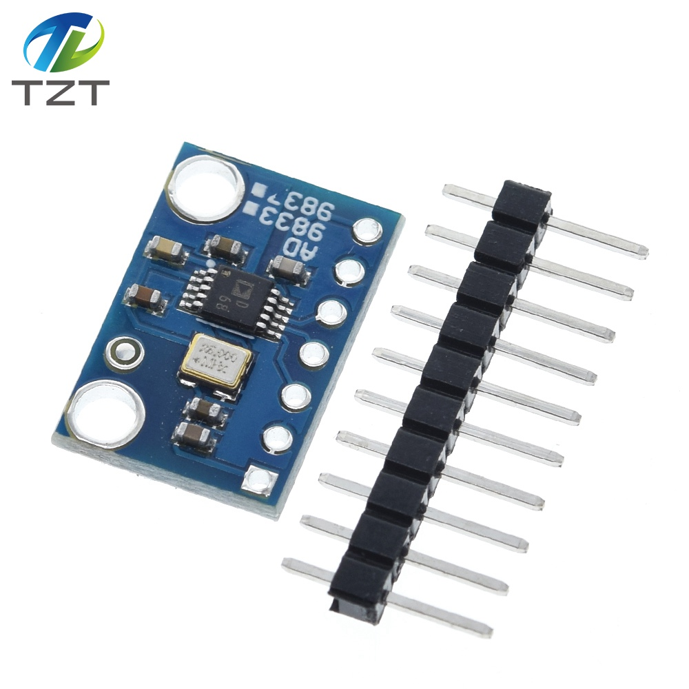 AD9833 программируемые микропроцессоры серийный интерфейсный модуль синусоидальный генератор сигналов DDS для Arduino