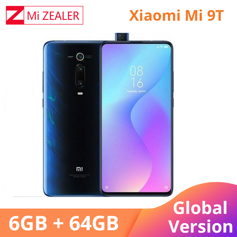 New Global Version Xiaomi Mi 9T Redmi K20 6.39 inch 6GB 64GB Smartphone 48MP Snapdragon730 Octa Core 4000mAh Pop up Front Camera-in Cellphones from Cellphones & Telecommunications    1
