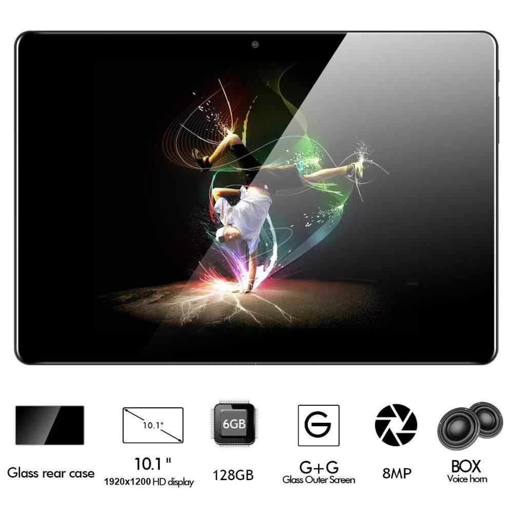 2019 versión Global de 10 pulgadas tablet Deca Core 6GB RAM 128GB ROM 4G FDD LTE 1920*1200 IPS Dual SIM 8.0MP GPS Android 9,0 tablet