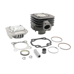 47mm 70cc Big Bore Cylinder Rebuild Kit For Yamaha Jog Zuma Vino 2 Stroke 50cc Scooter For Scooters With Jog Minarelli Motors(China)