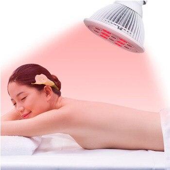 Ampoules infrarouges de thérapie de lumière rouge 660nm et 880nm LED s'allume pour des ampoules infrarouges de soulagement de douleur de peau de soins de santé de station thermale avec la prise