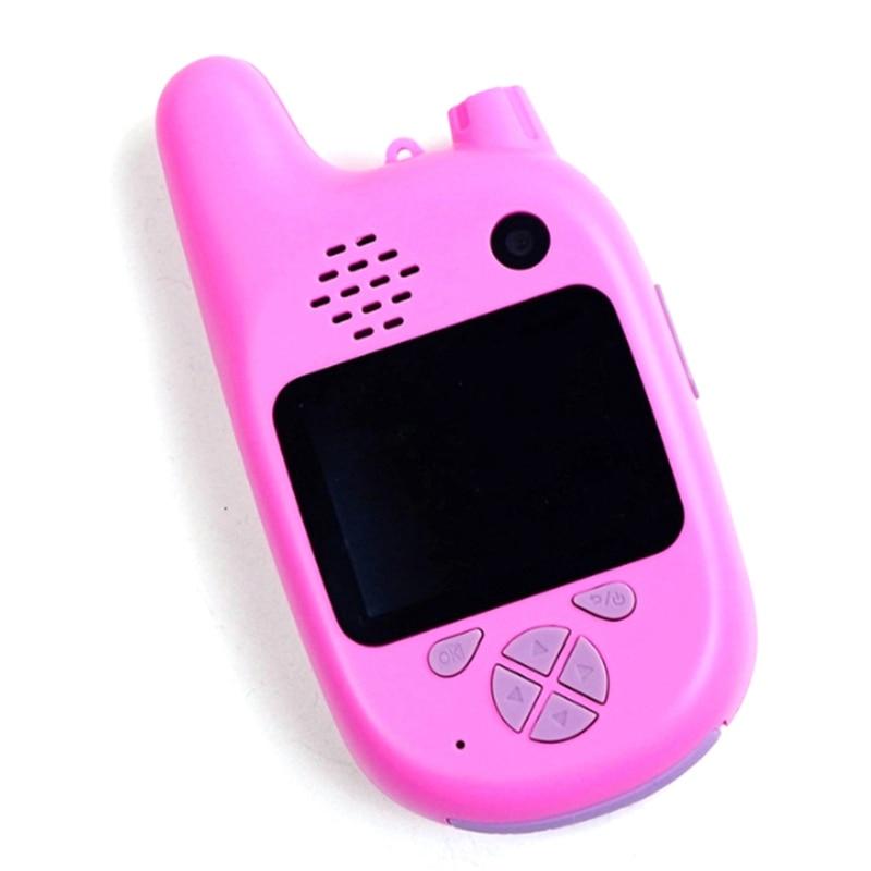Kids Walkie Talkie Camera Camcorder Mini Video HD Toys Walkie Talkie Camcorder MP3 Music Player Game Best Gift For Children